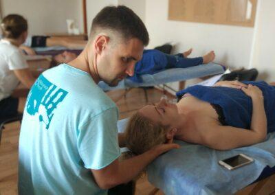 Миопластический массаж лица