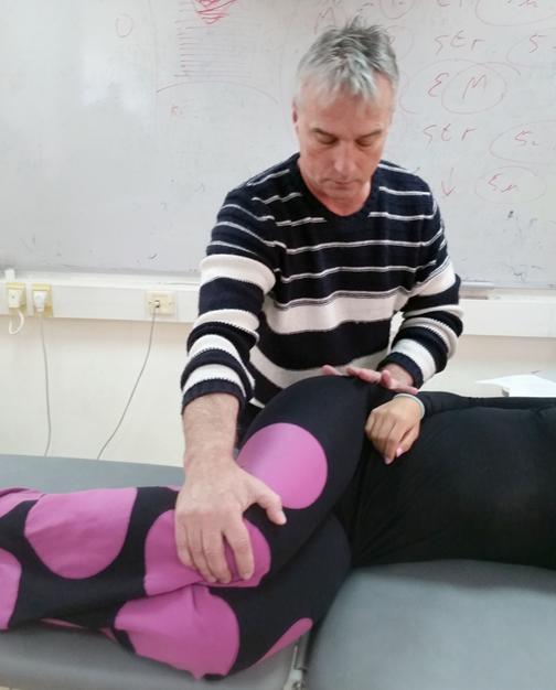 Восстановление алгоритма мышечного сокращения в цепи на примере PNF